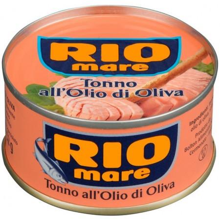 Тунец в оливковом масле Rio Mare Tonno all'Olio di Oliva 80 г