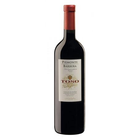 Красное сухое вино TOSO Piemonte Barbera DOC 0.75 л