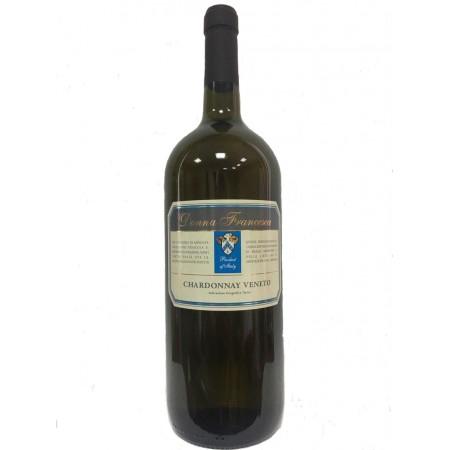 Белое сухое вино Donna Francesca Chardonnay Veneto 1.5 л